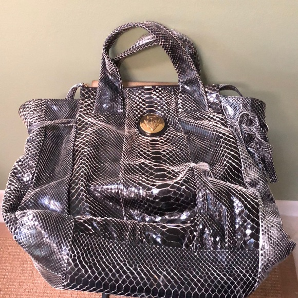 dbbfd43bbacd Gucci Bags | Sale Hysteria Python Skin Large Leather Bag | Poshmark